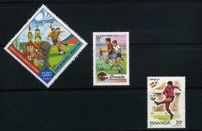 FUTBOL OF GUINEA- GRENADA >> CUP MUNICH/74.- RWANDA  >>SPAIN/2   {3}