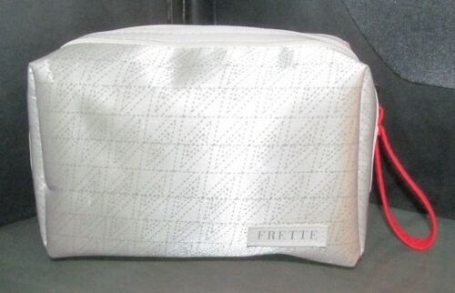 ALITALIA AIRLINE FRETTE amenity kit bag MAGNIFICA class makeup cosmetic case
