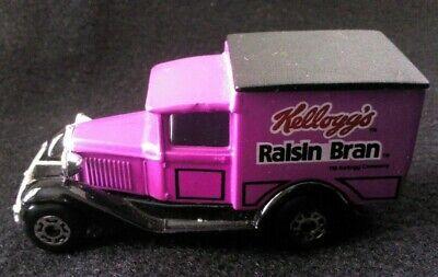 Vintage 1979 Matchbox Lesney Model A Ford Kellogg's Raisin Bran