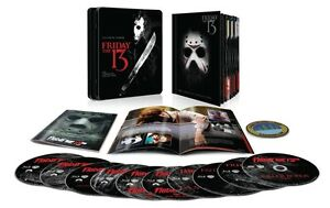 Friday The 13th: The Complete Collection (Blu-ray)(Region Free)