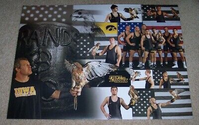 2019-2020  IOWA HAWKEYES Wrestling Poster- Special -