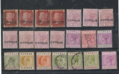 CYPRUS - Lot of old stamps