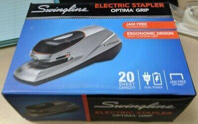 Swingline Optima Electric Stapler Silver 20 Sheets