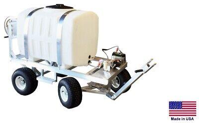 Sprayer Commercial - Trailer Mounted - 12v Electric Pump - 200 Gallon Tank