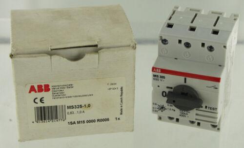 ABB ASEA BROWN BOVERI MS325-1.0 MANUAL MOTOR STARTER NEW