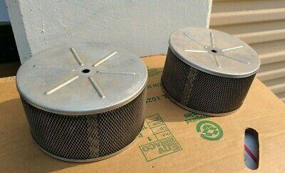 Vintage BARBRON CORP Carburetor Air Cleaner SET PAIR USA Made