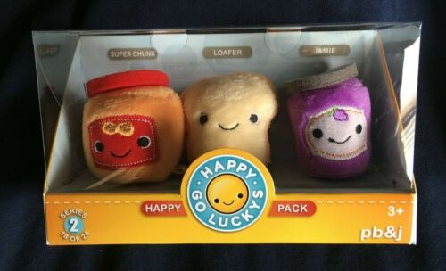 Happy Go Luckys Happy Pack - Peanut Butter and Jelly From Hallmark