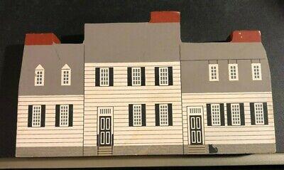 The MARY WASHINGTON HOUSE Cat's Meow Wooden Sitter FREDERICKSBURG Virginia 1991