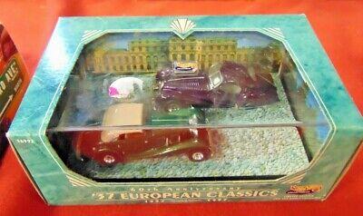 Hot Wheels 60th anniversary 37 European Classics 2 car set