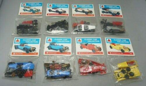 LOT OF 8 NEW CITCO CLASSIC CAR COLLECTION KITS KIT SET #1~2~3~4~5~6~7~8~SEALED