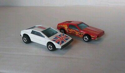 Cheap Race Cars (Vintage pair of Hot Wheels cars: Royal Flash 1978, Fast Back Race Car)