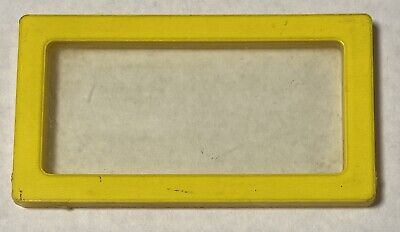 """1978 Barbie A-Frame Dream House Replacement Part: Window 3-1/2"""" X 2"""