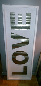 Wooden/ Tin LOVE SIGN