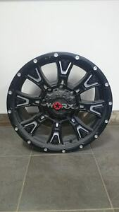"18"" Worx Tyrant Rims 8x6.5 8x165.1 Dodge GMC Chev 2500 3500"