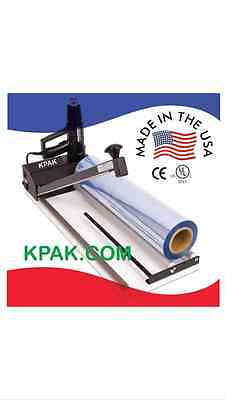 "Traco SS-24SS  24""  SS I-Bar Sealer Shrink Wrap Machine w/ Heat Gun"