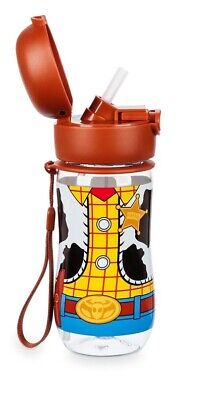 Disney Water Parks - DISNEY PARKS TOY STORY 4 WOODY FLIP-TOP WATER  BOTTLE NEW WITH TAGS