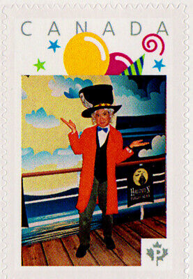 Mad Hatter Movie (Canada Picture Postage stamp - Mad Hatter - Alice in Wonderland -)
