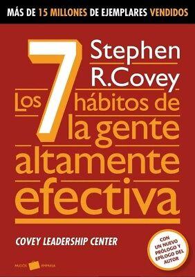 Los 7 habitos de la gente altamente efectiva version español book Best