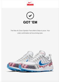 Nike Air Zoom Spiridon x Parra - UK 8 - Nike Confirmed Order!!!