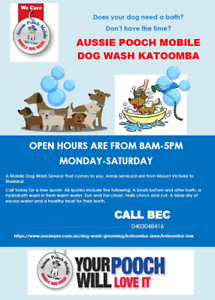 Aussie Pooch Mobile Dog Wash Katoomba