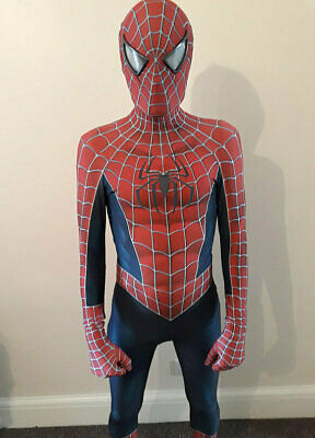 Spider-Man Jumpsuit Cosplay Costume Bodysuit Spiderman Zentai Suit Halloween Cos](Spiderman Halloween)