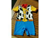 Boys toy story woody Sunsafe Sunsuit Swimming Costume 18-24 months
