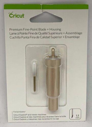 Cricut Fine Point Blade + Housing 1.1mm 2004225 Gold Tone Cricut Explore