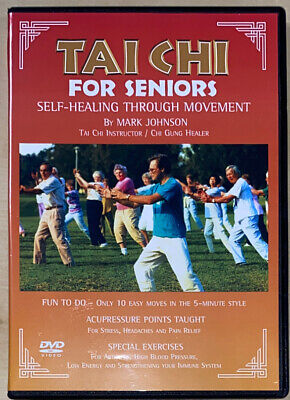 TAI CHI For Seniors • Self Healing Through Movement [DVD] Mark Johnson [59 Min]