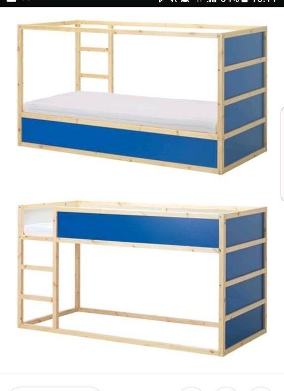ikea kura bed reversible bed in poole dorset gumtree. Black Bedroom Furniture Sets. Home Design Ideas