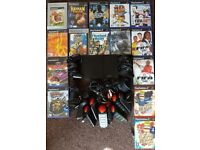 PS2 Slim Console + Games