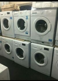 Washing machines on sale starting prices £79.99 warranty included SALE ON TODAY