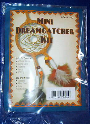 Make Your Own Dreamcatcher Craft Kit W  Feathers 3  Hoop Scouts Youth Red