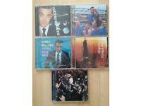 Cds x 5 Robbie Williams (one Brand new still sealed)