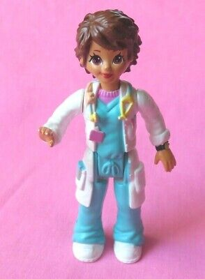 Fisher Price loving family SWEET STREETS Dollhouse HOSPITAL WOMAN DOCTOR figure