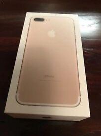 iPhone 7 plus 32GB Brand New