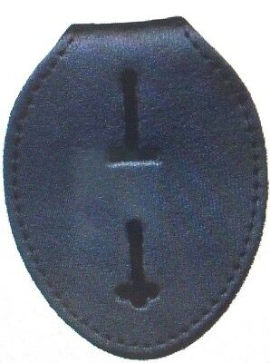 Universal Oval Badge Holder Police Sheriff Marshall Security