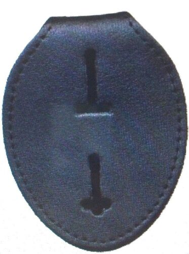 UNIVERSAL OVAL BADGE HOLDER POLICE, SHERIFF, MARSHALL, SECURITY