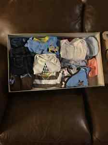0-6 months clothing