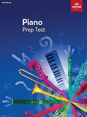 ABRSM Piano Prep Test 2017+ - Same Day P+P