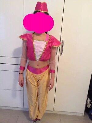 Faschingskostüm Kinder Bauchtänzerin Mädchen - Weiß Bauchtänzerin Kostüm