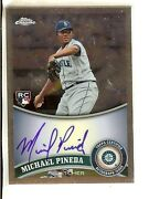 2011 Topps Chrome Autograph Michael Pineda