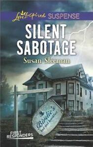 Silent Sabotage (First Responders)-ExLibrary
