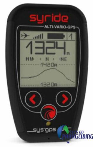 Syride Variometer Sys Gps V3 For Paraglider, Ppg, Paramotor, Hang-gliding Pilots