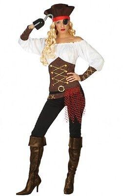 Déguisement Femme PIRATE Corsaire XS/S 36/38 Costume Adulte NEUF Pas - Femme Pirate Kostüm