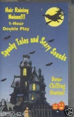 HALLOWEEN SPOOKY TALES & SCARY SOUNDS  CASSETTE NEW  FREE - Halloween Sounds Cassette