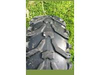 Quad tyres 12x8 -25