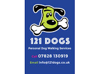 121 DOGS - PERSONAL DOG WALKING SERVICES