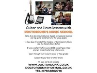 South London's best drum and guitar teacher for young people. First lesson half price