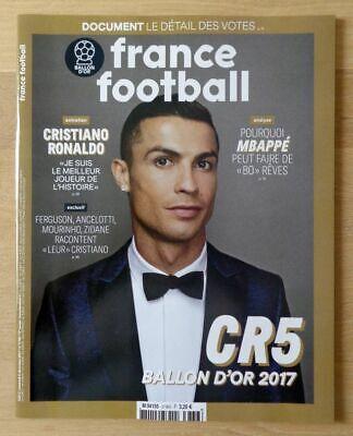 FRANCE FOOTBALL - SPECIAL BALLON D'OR 2017 / N° 3736