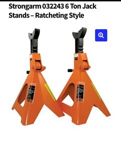 Strongarm Jack Stands - Ratcheting Style - 6 Ton
